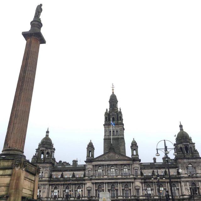 A praa mais famosa de Glasgow! scotland glasgow escocia reinounidohellip